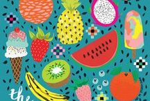 illustrations -Food-