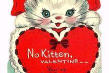 Vintage Valentine & Birthday Card