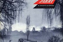 Gute Fahrt Magazine 1950's - 70's covers / Magazine cover's of Gute Fahrt (Good/Safe Ride) from the 50's to 70's