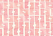 textile, surface, pattern / by drawdrawdraw *
