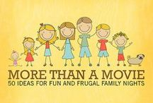 Ways To Be Frugal  / by FrugalFamilyTree Laura & Sam & Patricia