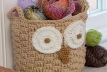 Crochet household, kitchen, etc. / by Laura Brothers