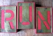 Running / Never stop running! / by Helen Frampton