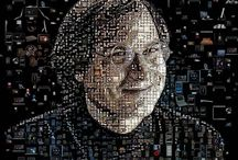 charis tsevis' mosaics / The world famous mosaics and visual art of Charis Tsevis. Visit tsevis.com for more.  #charis #tsevis #charis tsevis, #mosaics, #mosaic, #digital art, #digital illustration, #mozaic, #magazine cover, #steve, #jobs, #steve jobs, #obama / by Vector Hugo