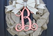 Front Door Decor / by Haley Lovell