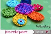 Free patterns crochet / International free patterns to crochet / by Renate @NL