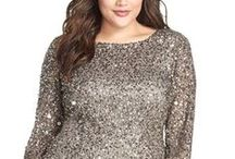 Plus Size {Party Dresses} / Plus Size Fashion for Women, Plus Size Dresses, Plus Size Party Dresses #plus #size #holiday #dressses #alexawebb