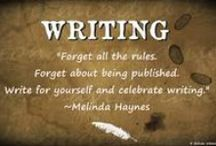 A23 | #amwriting / These pins are to inspire us all. We are all writers ♥
