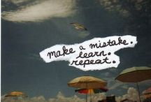 Mistakes are welcome here / Quotes to encourage ESL students to relax and try / by Mariana Ruduit