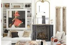 interiors / Interior spaces that occupy my mind