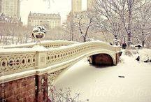 I love the winter weather. / Seasonal beauty. / by Mila Wain