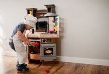 Let's Cook! / Pretend play toys are very important in the development of your child. Nurturing the little ones' desire to imagine and play socially is what Little Tikes pretend toys are all about. Great for play time together, with supervision, or alone, these toys are versatile, safe and sturdy. Browse the categories to discover pretend play toys for toddlers up to preschoolers!