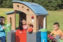 Let's Play House! / Children love to role play.  Little Tikes Playhouses are wonderful for indoors or outdoors imaginative playtime.