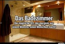 Badezimmer Ideen (Ideas for Bathrooms) / Sie brauchen noch mehr Anregungen für Ihr neues Bad?  (You need more ideas for your new bathroom? Here you will find a selection of references and sample pools.)
