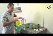 How to's / Duschbrause verkalkt? Abfluss verstopft? Hier finden Sie nützliche Hinweise zur Selbsthilfe. (Calcified shower head? Drain clogged? Here you will find useful information to help themselves.)