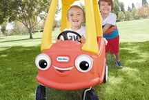 America's #1 Car / The Little Tikes Cozy Coupe® ride on toy is an American classic. Toddlers love this riding toy car's classic design and easy maneuverability. Perfect indoors or out. The Cozy Coupe encourages active play, imagination and the development of large motor skills.