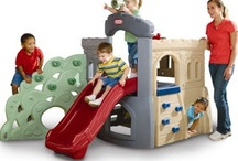 Let's Climb 'n' Slide! / Little Tikes Climbers and Slides