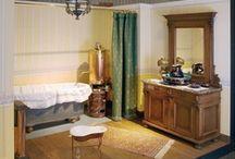 Historische Badezimmer (Historic Bathrooms)