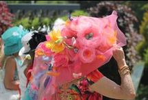 Events  | Floral Fashion / What's hot and trending in #fashion and #florals. Join us in #May at our fashion forward event, #Woman to Woman, Lunch in the Garden. Be sure to wear a big #hat and your fanciest #frock. / by Toronto Botanical Garden