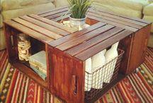 Homemade furniture / by Tricia Berrigan