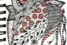 markings   ornaments / Markings, ornaments zentangles, doodles, mandalas and hand drawn element inspo for textiles