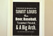 St. Louis / A bunch of St. Louis stuff from BentonParkPrints.com
