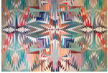 Navajo and Aztec / Navajo and Aztec textile prints and patterns