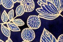 ikat   batik / Ikat and batik textiles fabrics