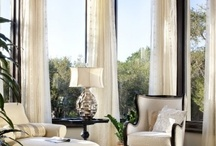 interior design | window treatments / Window treatments are like the jewelry to a perfect outfit.  And absolute MUST! / by Heather Scherie for Whitestone Design Group
