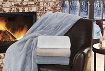 Electric Blankets / Turn down the thermostat and cozy up to one of our luxurious heated Electric Blankets. Our Heated Blankets are not only energy efficient to stay warm, they are soft and cozy. Our Electric Heated Blankets will keep you warm from a cool night to the coldest of winter evenings. We have a full line of Heated Blankets including the World's Safest Low Voltage Electric Blankets, Classic Heated Blankets, and Serta Heated Blankets. Turn down your heat and save energy. Heat your bed, NOT the whole house! / by CozyWinters