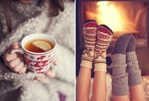 Keeping Cozy / One of the best feelings is to be cozy inside when it's cold outside! / by CozyWinters