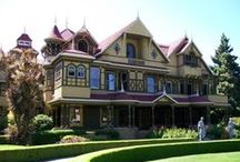 Richard Allen Wagner - Winchester Mystery House / A few images of the weirder parts of the Winchester Mystery House http://fascinatingnouns.com/rick-wagner/