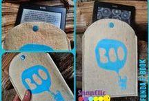 Fundas y sobres con snaps / fundes de tela para libros, agendas, ipad, ebooks,...