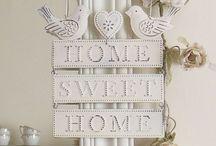 Sweet home / La casa che vorrei...