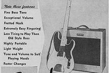 Fender Telecaster Bass / Fender Original Precision & Telecaster Bass