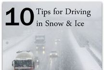 Snow & Ice Safety / Keep safe in the ice and snow this winter! / by CozyWinters