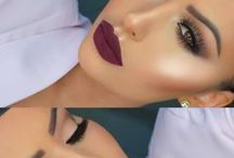 Glam makeup ideas.