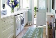 Laundry / Laundry room design and inspiration.