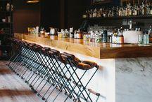 Bars / Beautifully designed bars and bartops.