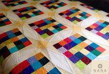 Nana by Nana - Quilting / Alguns dos nossos trabalhos de quilting. Some of our quilting works.