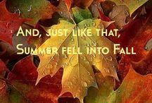 Autumn, syksy