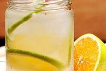 Bebidas / Aprenda a fazer drinks com ou sem álcool