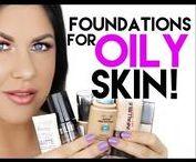 Oily Skin.