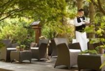 Jardins et Terrasses / Les jardins et terrasses du Parc**** Hôtel Restaurants & Spa Alsace Obernai