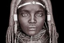 People of the world / A collection of people from all parts of the world. We may look different but we are all linked.