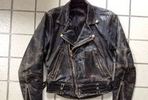 vintage leather jackets and accessories / Old leather coats and jackets. Mostly motorcycle and military related with other period accessories like goggles , gloves and hats. Also motorcycles, cars and stuff.