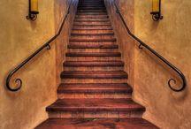escaleras y parrillas