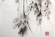 200 Japanese Ink Painting / 現代作家