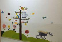 Duvar resimleri / Okulumuzun duvar resimleri