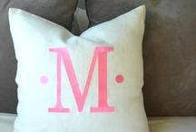 PILLOWS, PILLOWS  and more PILLOWS / Most of us have an obsession with decorative throw pillows, don't we?  Now we have a place to share our favorites here on my community PILLOW board!